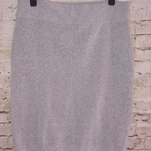 {Halogen} sweater skirt